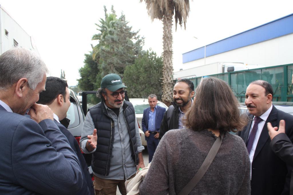 زيارة وفد رسمي من البنك الدولي و منظمة TENT  و شركة Chobani   العالمية .