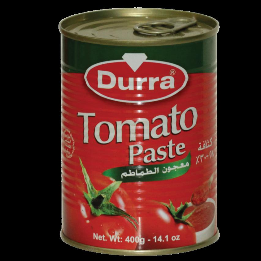 معجون الطماطم عبوة معدن 400غ