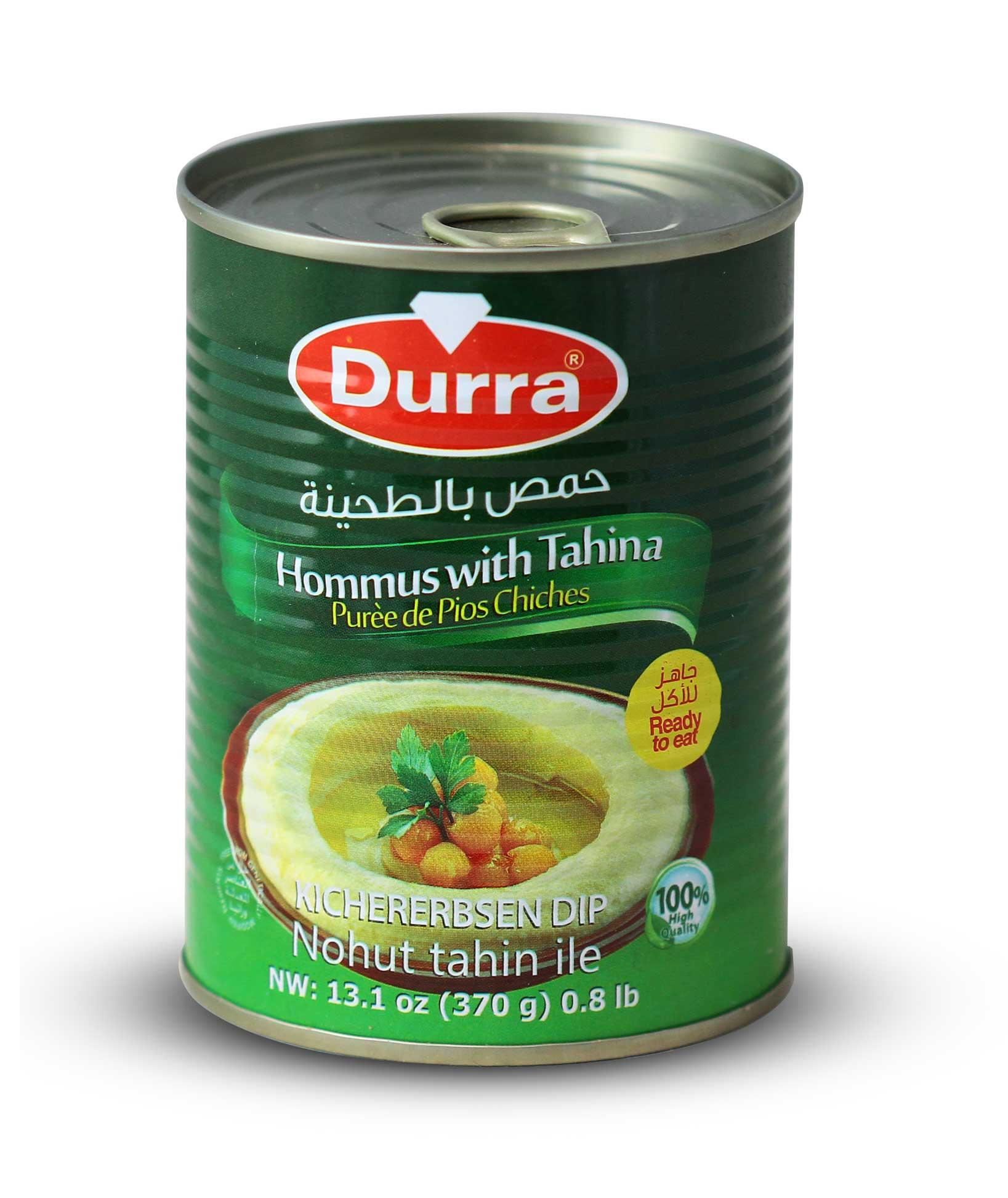 حمص بالطحينة علبة صفيح 370 غ