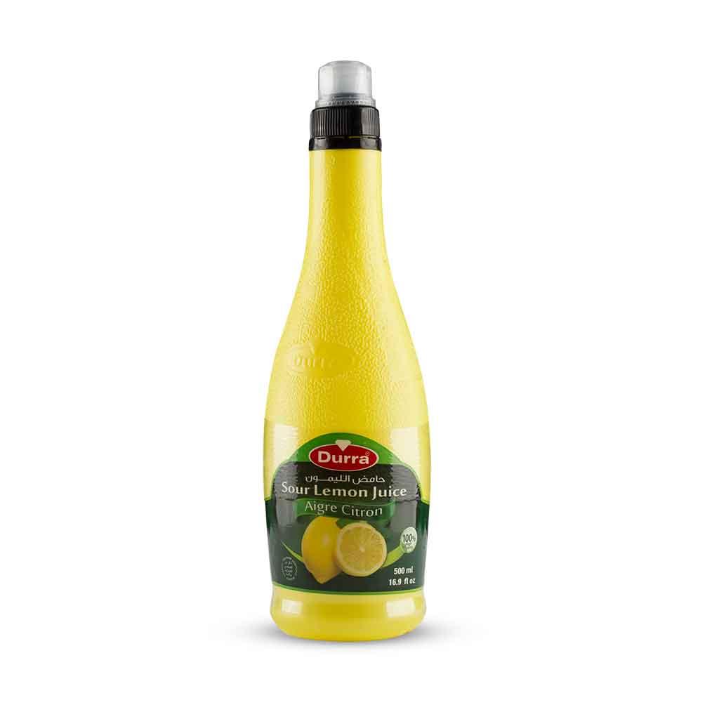 حامض الليمون عبوة بلاستيك 500مل